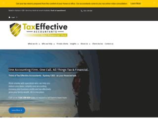 taxeffective.com.au screenshot