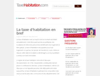 taxehabitation.com screenshot