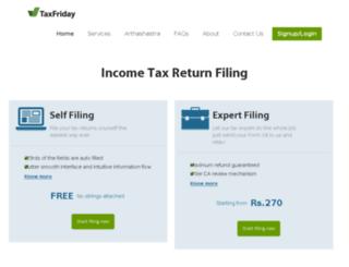 taxfriday.com screenshot