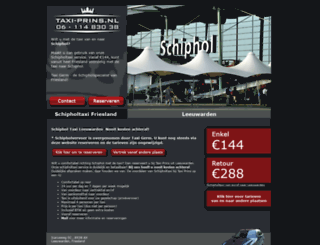taxi-prins.nl screenshot