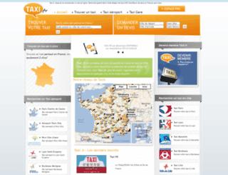taxi.fr screenshot
