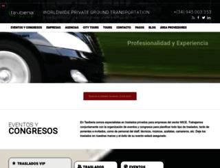 taxiberia.es screenshot