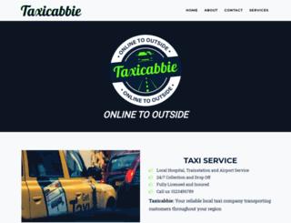 taxicabbie.com screenshot