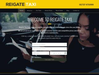 taxigatwickairportuk.co.uk screenshot