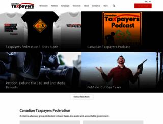taxpayer.com screenshot