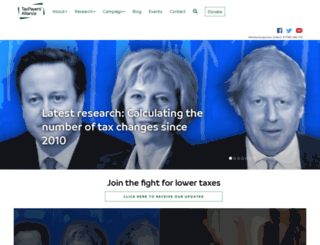 taxpayersalliance.com screenshot