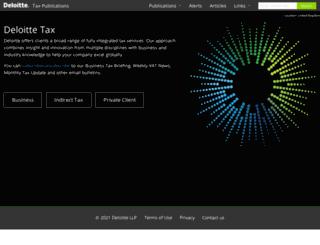 taxpublications.deloitte.co.uk screenshot