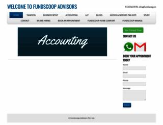 taxscoop.in screenshot