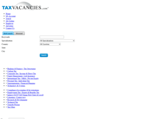 taxvacancies.com screenshot