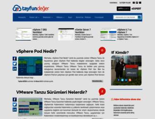 tayfundeger.com screenshot
