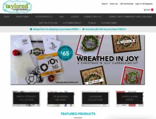 tayloredexpressions.com screenshot