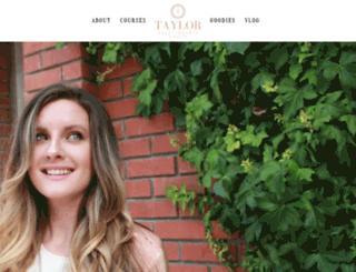 taylorflorom.com screenshot
