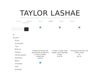 taylorlashae.nmrkt.com screenshot