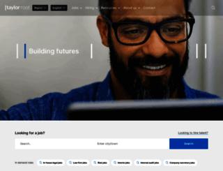 taylorroot.com screenshot