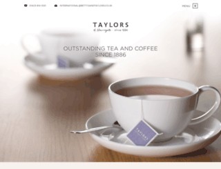 taylorscoffee.co.uk screenshot