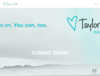 taylorsgift.org screenshot