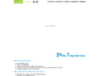 tazgps.com screenshot