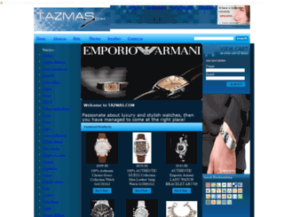 tazmas.com screenshot