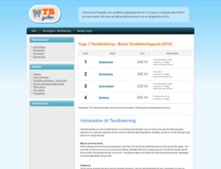 tbguiden.com screenshot
