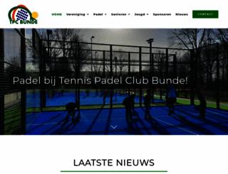 tcbunde.nl screenshot