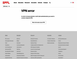 tcf.epfl.ch screenshot