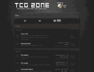 tcgzone.com screenshot