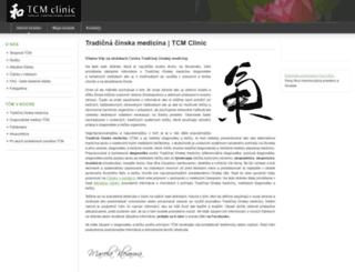 tcmclinic.sk screenshot