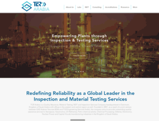 tcr-arabia.com screenshot