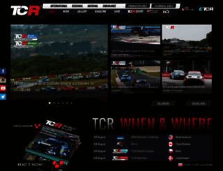 tcr-series.com screenshot
