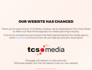 tcsmedia.co.uk screenshot