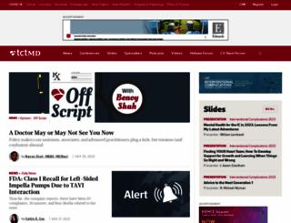 tctmd.com screenshot