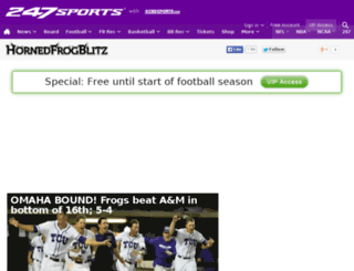 tcu.247sports.com screenshot