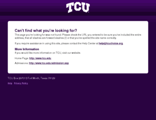 tcuchoice.org screenshot