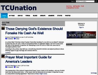 tcunation.com screenshot
