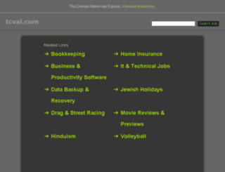 tcval.com screenshot