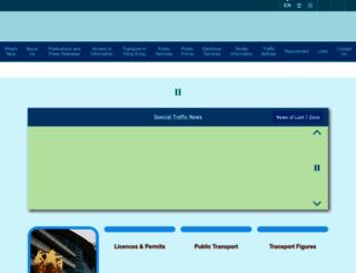 td.gov.hk screenshot