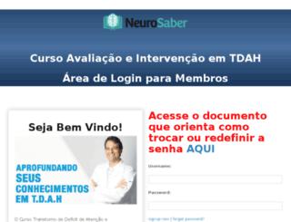 tdah.neurosaber.com.br screenshot