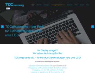 tdcomponents.com screenshot
