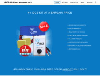 tdcs-kit.com screenshot