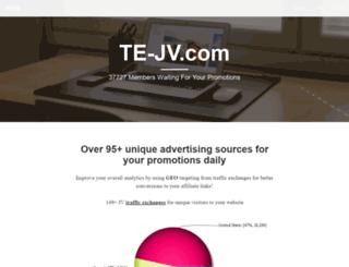 te-jv.com screenshot