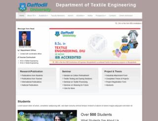 te.daffodilvarsity.edu.bd screenshot