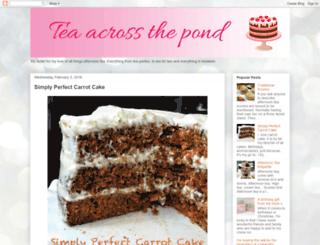 teaacrossthepond.com screenshot