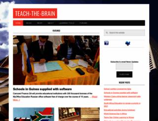 teach-the-brain.org screenshot