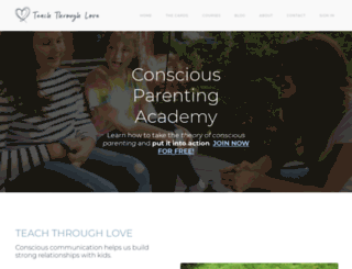 teach-through-love.com screenshot