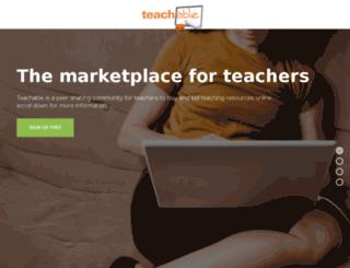 teachable.uk screenshot