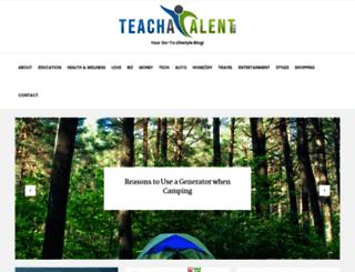 teachatalent.com screenshot