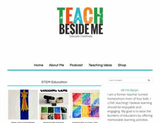 teachbesideme.com screenshot