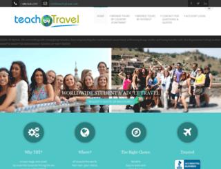 teachbytravel.com screenshot
