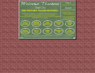 teacherprintables.net screenshot