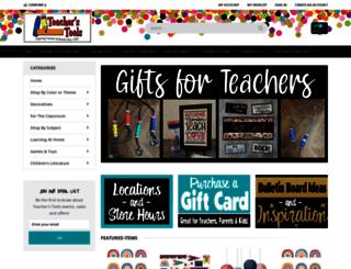teachers-tools.com screenshot